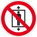Prohibition sign - Passenger transport prohibited