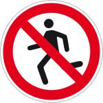 Prohibition Sign - Running prohibited