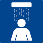Swimming pool sign - hairdryer