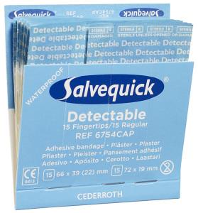 Salvequick Blue Detectable patch mix