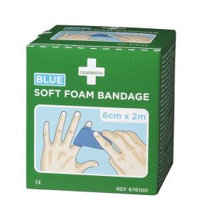 Cederroth Soft Foam Bandage blue