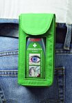 Belt pouch for Cederroth eye wash bottle