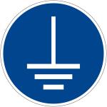 Mandatory Sign - Ground before use