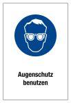 Mandatory sign - Use eye protection