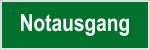 Escape route sign - emergency exit