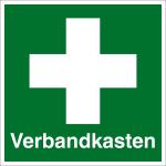 Escape sign - first aid box