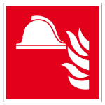 Fire safety signs - Means and equipment for firefighting