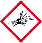 GHS marking - Explosive substances