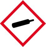 GHS marking - gases under pressure