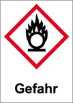 GHS marking - Danger, substances which ignite