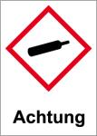 GHS marking - Attention, gases under pressure