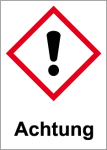 GHS marking - Attention