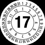 Annual test plaque 2017 | JP23 | favorite color