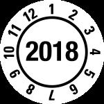 Annual Test Plaque 2018 | JP19 | favorite color