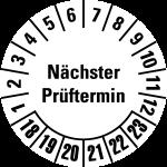 Multi-year test sticker 2018 - 2023 | Next examination date