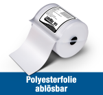 Removable polyester film - various sizes - LabelMax