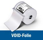 VOID film - various sizes - LabelMax