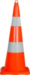 Traffic cone retroreflective 900 mm