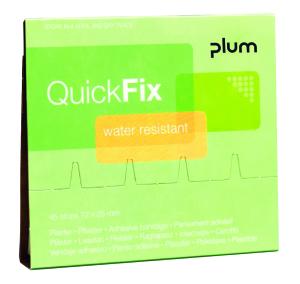 RECHARGE | QuickFix plum plaster dispenser | water resistant | VE = 1 x 45 plaster