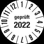 Jahresprüfplakette 2022 | JP622 | Wunschfarbe