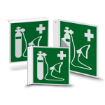 Nose or flag shield | Escape Sign - Resuscitation Device (E028)