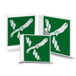 Nose or flag shield   Escape Sig ... fe for Liferaft Equipment (E035)