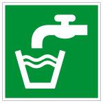 Rettungszeichen - Trinkwasser - E015