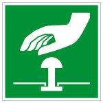 Escape Sign - Emergency Stop Button - E020