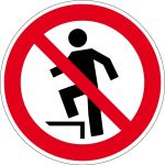 Prohibition Sign - Prolongation Prohibited