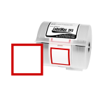 Labels for the LabelMax SP3 | GH ... with red frame | different sizes
