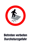 Prohibited sign - No entry allowed