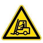 Warning sign - warning of truck