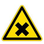 Warning signs - Warning of harmful substances
