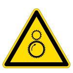 Warning sign - danger of danger of entry