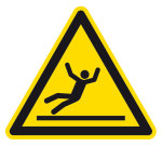 Warning signs - Danger of skydiving