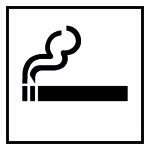 Turquoise - Smoking Zone