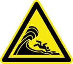 Warning Sign - High Surf Warning