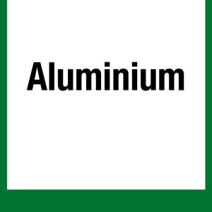 Recycling marks - Aluminum - Foil self-adhesive - 5 x 5 cm