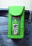 Belt pocket for Cederroth eyewash bottle