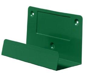 Wall bracket for Cederroth eye shower case