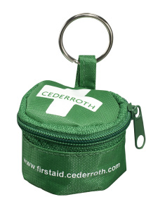 Cederroth ventilation mask in key ring case