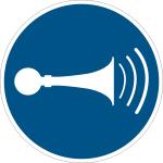 Billing sign - Acoustic signal