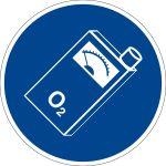 Charge sign - oxygen warner