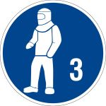 - Use protective clothing type 3