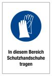 Prohibition sign - Wear protective gloves