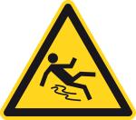 Warning signs - Danger of skydiving
