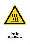 Warning sign - Hot surface