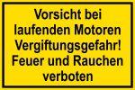 Warning sign - Danger of poisoning