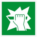 Emergency exit sign - Emergency exit device