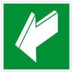 Escape route sign - Rescue route